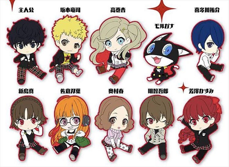 Persona 5 Royal - Rubber Strap SINGLE BLIND BOX