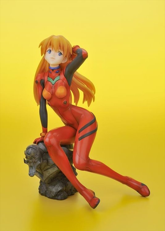 Evangelion - 1/6 Shikinami Asuka Langley Plugsuit Ver. Ani Statue Re-release