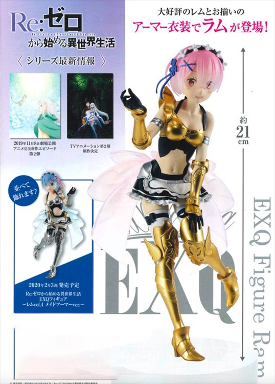 Re : Zero - Ram EXQ Figure