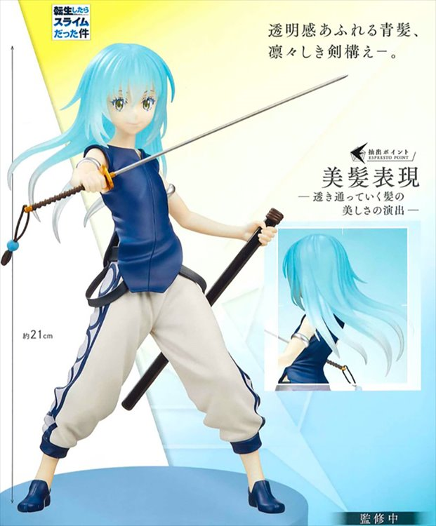 That Day I Was Reincarnated As A Slime - Rimuru Espresto Prize Figure