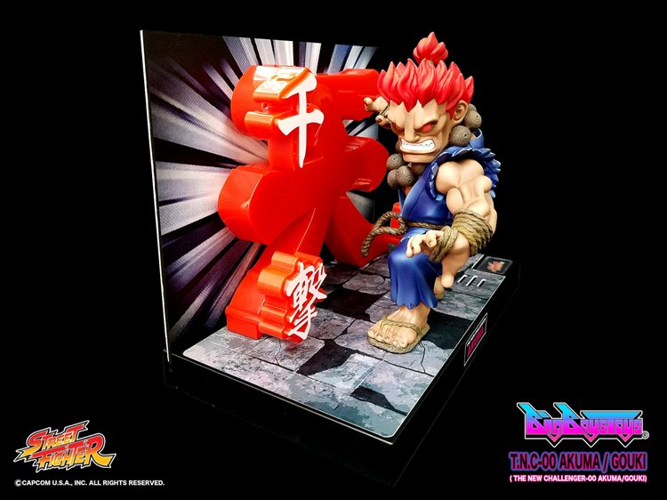 Street Fighter - Non Scale Akuma TNC 00 PVC Figure