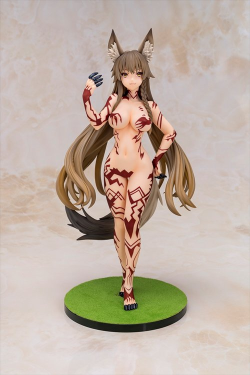 Original Character - 1/5 Daikingdom Series Rannou Original Illustration Kitsunemimi san PVC Figure