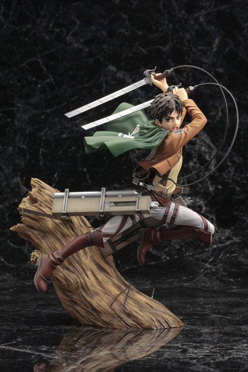 Attack On Titan - 1/8 Eren Yeager Ver. Artfx J Re-release