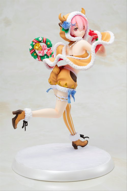 Re:Zero Starting Life In Another World - 1/7 Ram Christmas Maid Ver. PVC Figure