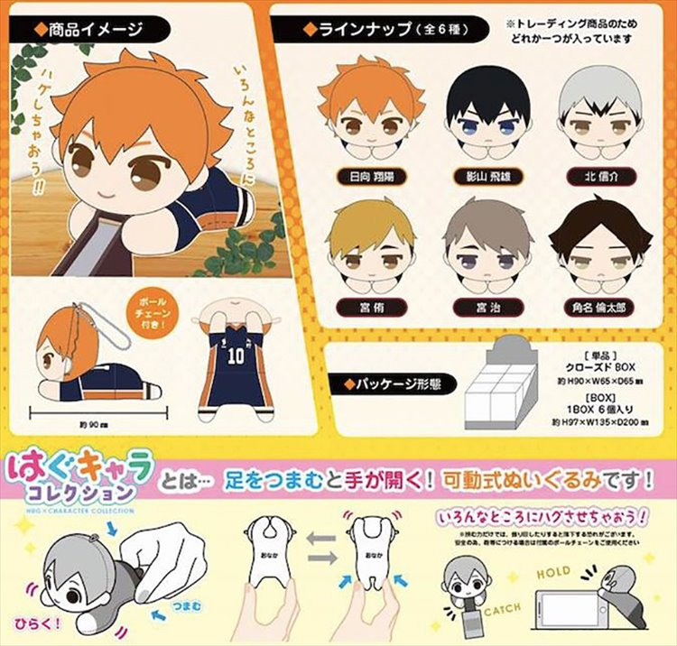 Haikyuu To the Top - Hug Character Collection SINGLE BLIND BOX