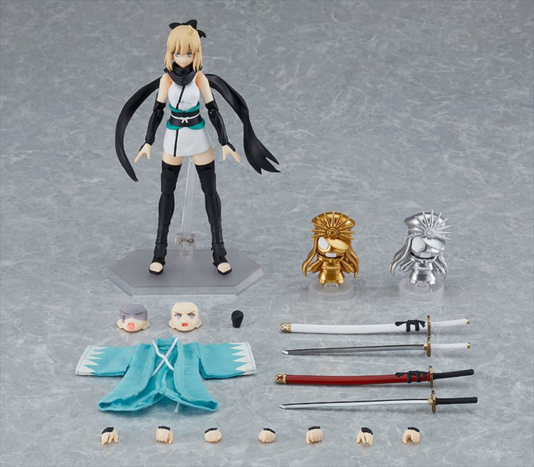 Fate/grand Order - Figma Saber/okita Souji Ascension Ver. PVC Figure