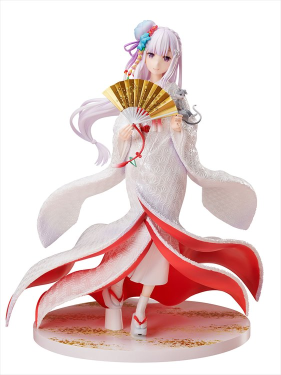 Re:Zero - 1/7 Emilia Shiromuku PVC Figure