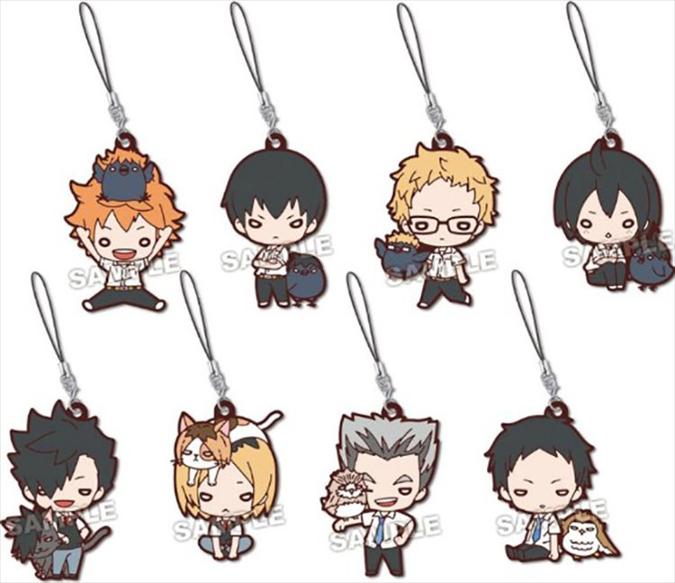 Haikyuu to the Top - Rubber Mascot SINGLE BLIND BOX