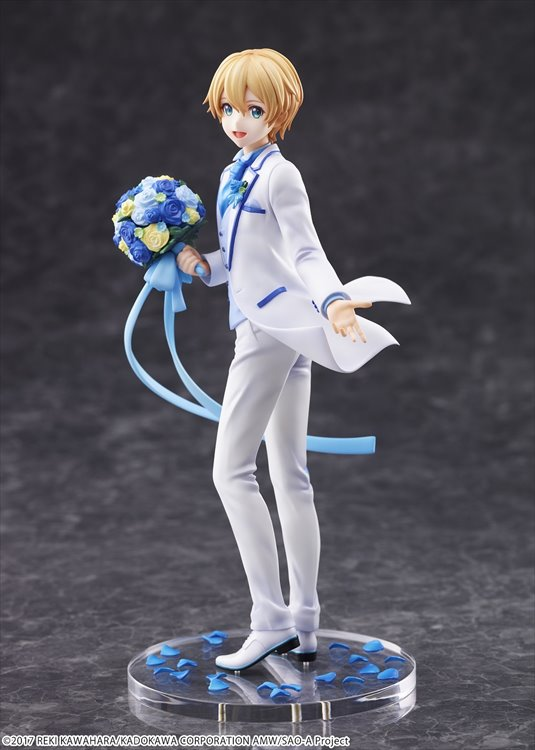 Sword Art Online - 1/7 Eugeo White Suit Ver. PVC Figure