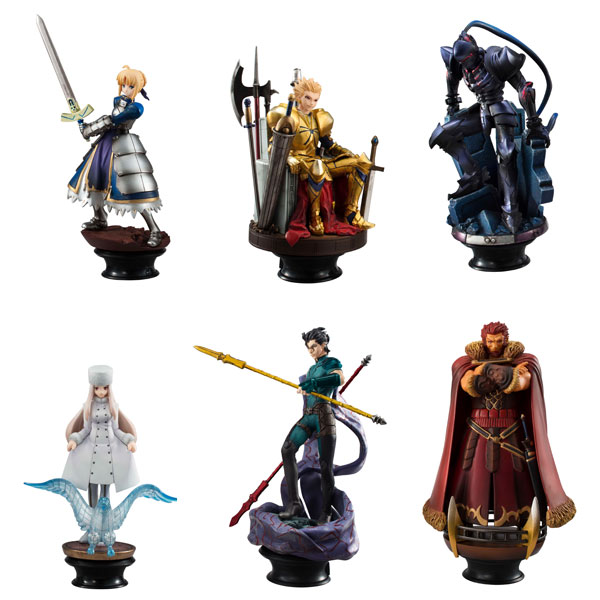 Fate Zero - Chess Piece Collection R Set of 6