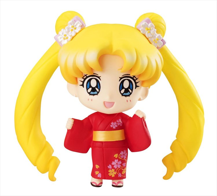 Sailor Moon - Tsukino Usagi Yukata Version Petite Chara Figure