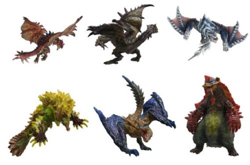 Monster Hunter - Standard Model Plus Volume 6 - Single BLIND BOX