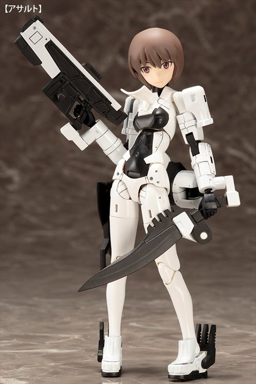 Megami Device - Non Scale WISM soldier Assault / Scout Model Kit