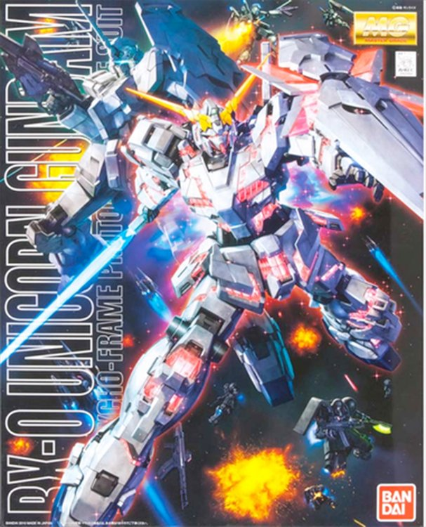 Gundam Unicorn - 1/100 MG Unicorn Gundam