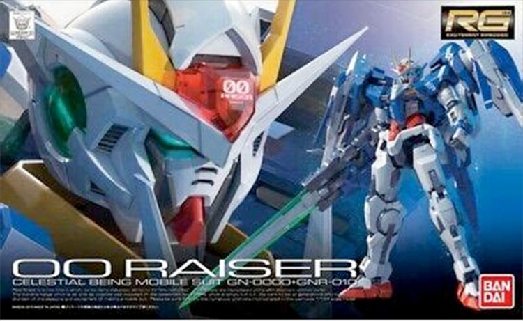 Gundam 00 - 1/144 RG 00 Raiser Gundam Model Kit