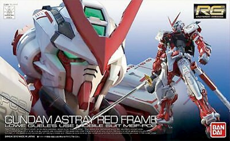 Gundam - 1/144 RG Astray Red Frame Model Kit