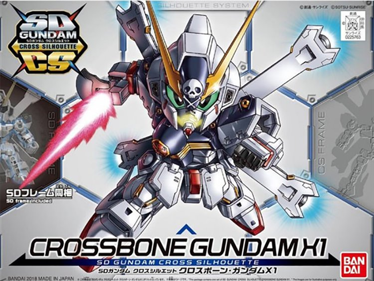 Gundam - SD Crossbone Gundam X1 Model Kit
