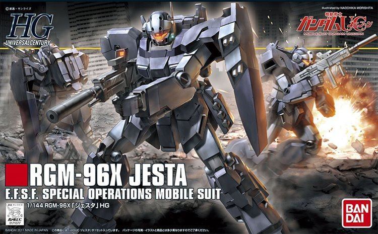 Gundam HGUC - 1/144 HG RGM-96X Jesta Model Kit