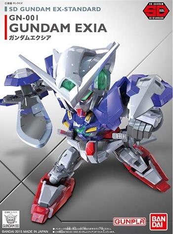 Gundam - SD Exia Gundam Model Kit