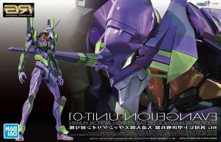 Evangelion - 1/144 RG Evangelion Unit-01 Model Kit