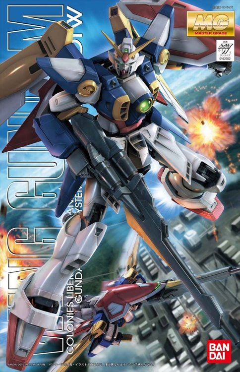 Gundam - 1/100 MG Wing Gundam Model Kit