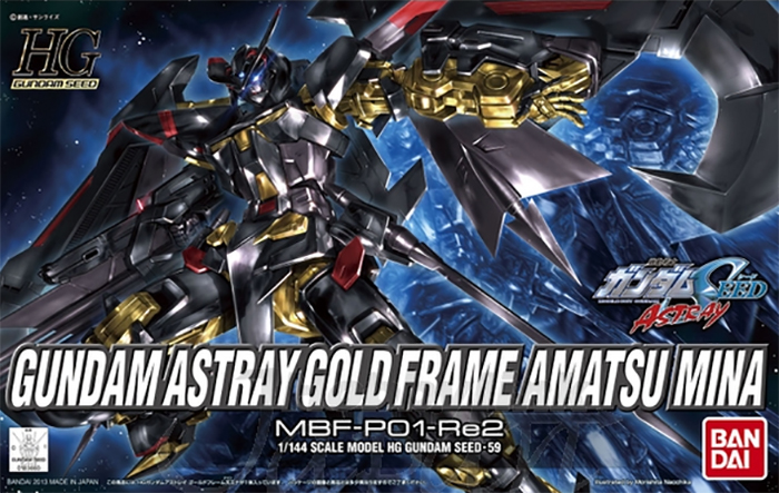 Gundam Seed - 1/144 HG Astray Gold Frame Amatsu Mina Model Kit
