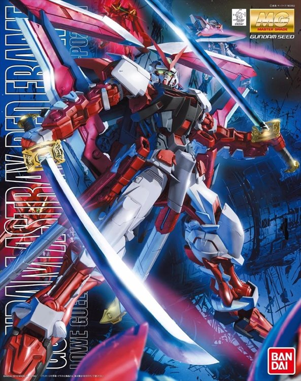 Gundam Seed - 1/100 MG Astray Red Frame Kai Model Kit