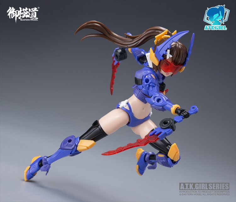 A.T.K - Non Scale Eastern Model Stag Beetle Girl Titans Plastic Model Kit
