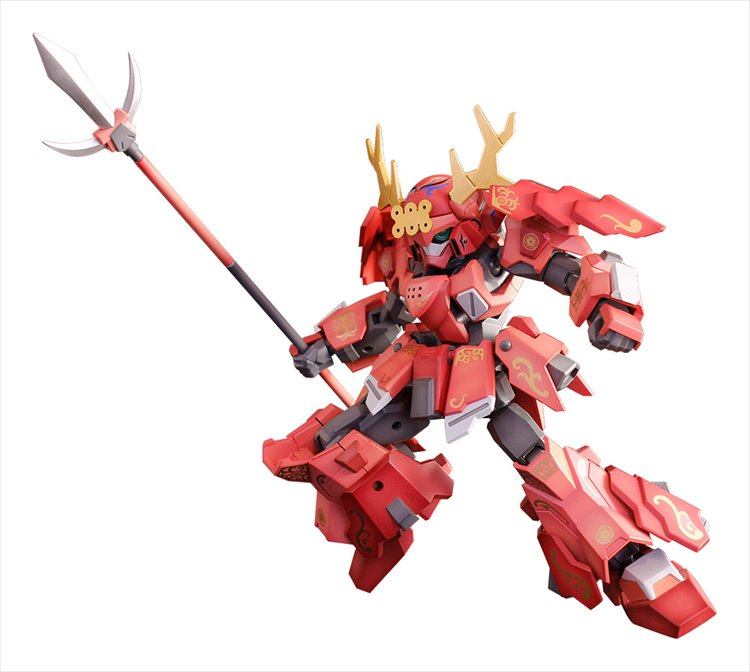 Pla Act - Sanada Kiwami Yoroikazari Ver. Model Kit