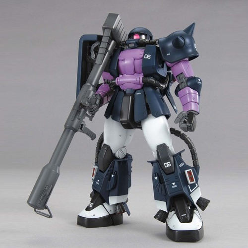 Mobile Suit Gundam - 1/100 MG MS-06R-1A Zaku II Model Kit