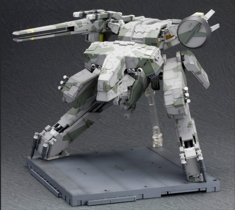 Metal Gear Solid - Metal Gear Rex Model Kit re-release