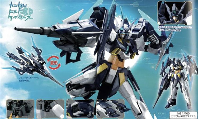 Gundam Build Divers - 1/100 MG Age II Magnum Model Kit