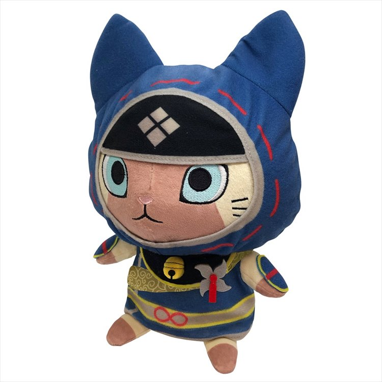 Monster Hunter Rise - Palico Chibi Plush