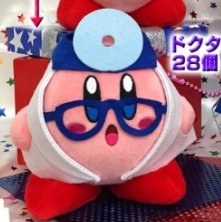Kirby Planet Robobot - Docter Kirby Plush