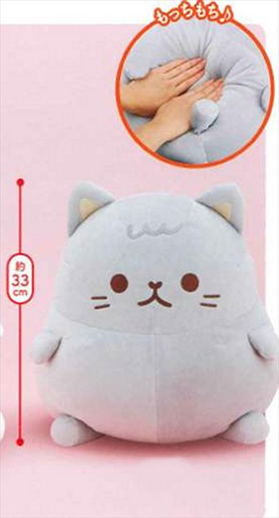 Moch Mochi Cat - Soft Plush Doll Grey Ver.